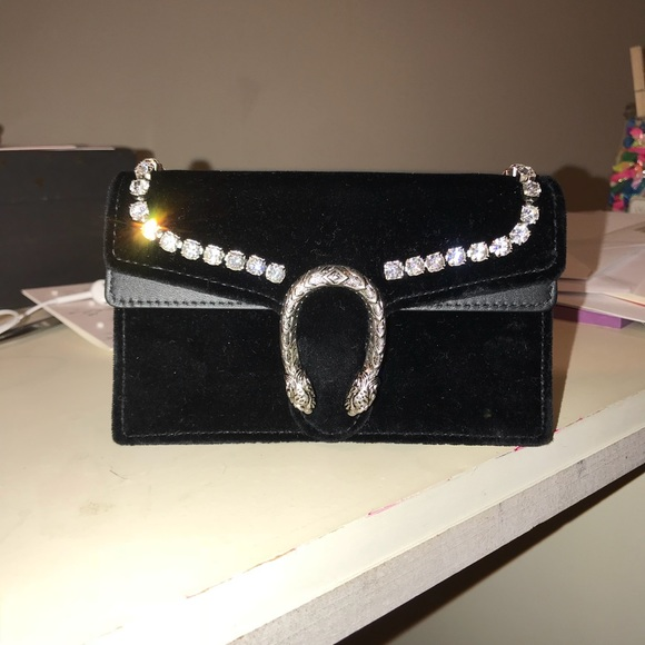 3551118d7253 Gucci Bags | Dionysus Super Mini Bag With Crystals | Poshmark